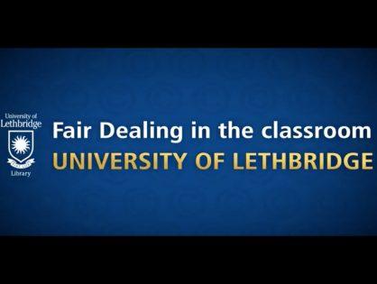 Membres du corps enseignant de la University of Lethbridge