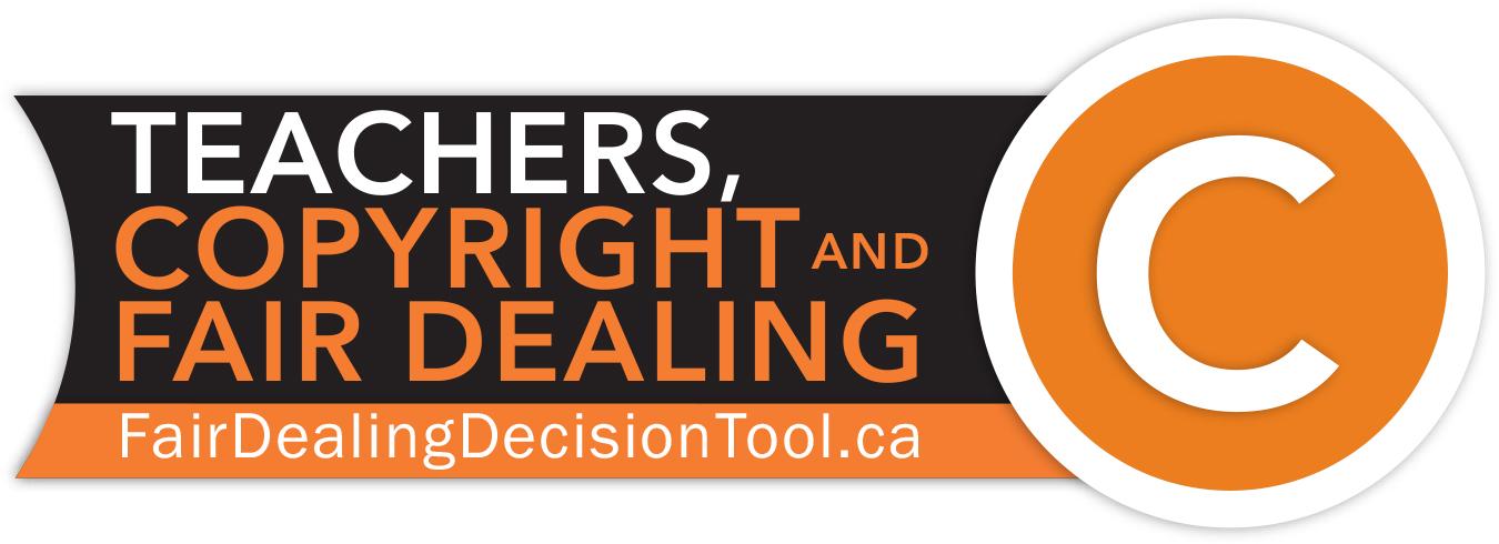 Image of Teachers, Copyright and Fair Dealing logo