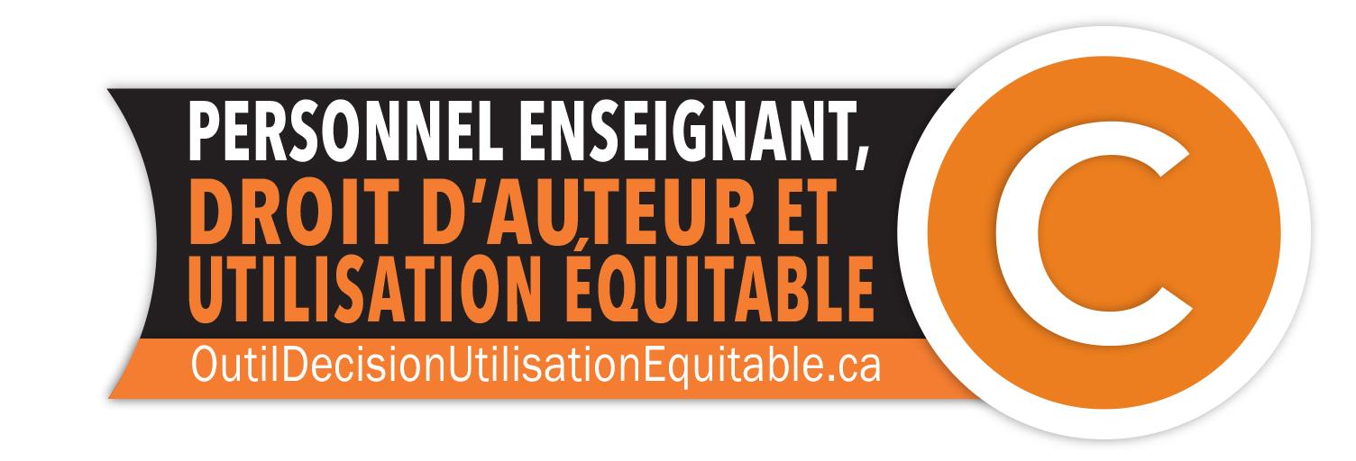 Logo : personnel enseignant, droit d'auteur et utilisation équitable
